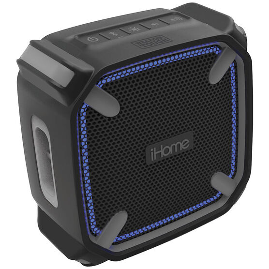 iHome Bluetooth Speaker with Speakerphone - Black - IBT371BGBGC