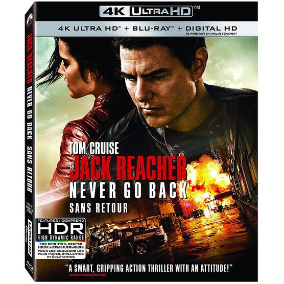 Jack Reacher: Never Go Back - 4K UHD Blu-ray