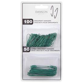Danson Wire Ornament Hooks - 150 pieces - X91225