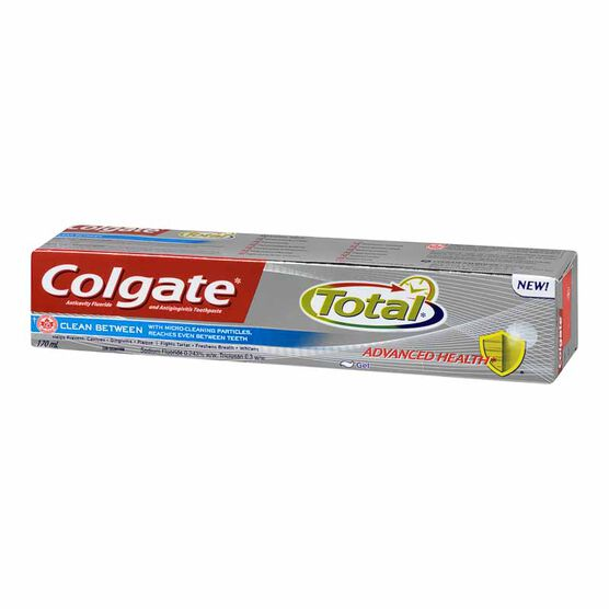Colgate Total Advanced Health Clean Between Toothpaste - 170ml