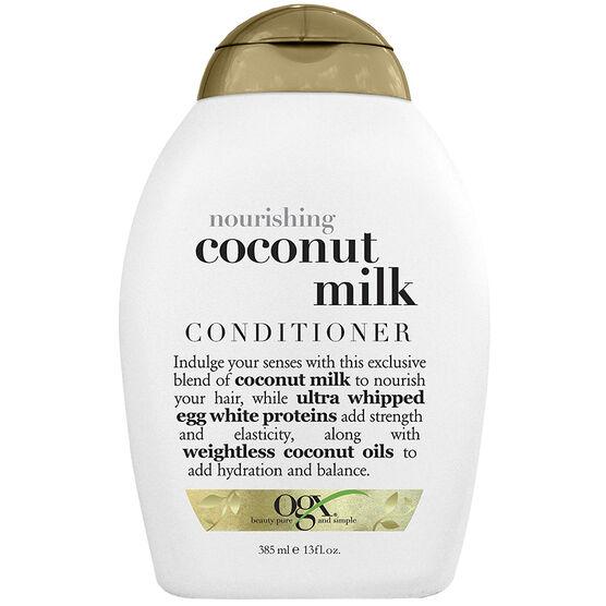 OGX Nourishing Coconut Milk Conditioner - 385ml