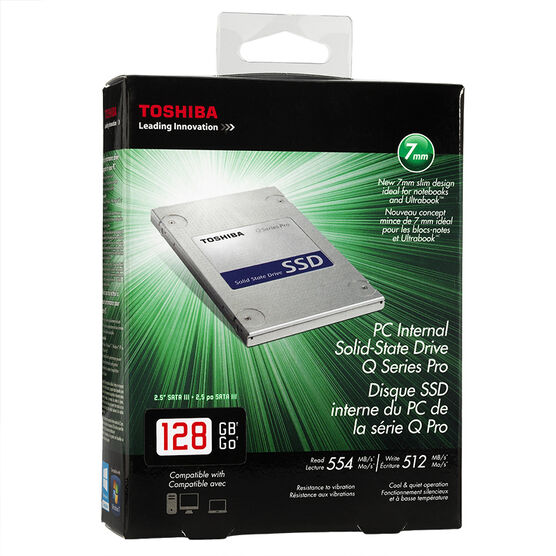 Toshiba 128GB SSD Internal Drive - HDTS312XZS