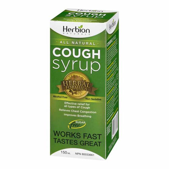 Herbion All Natural Cough Syrup - 150ml