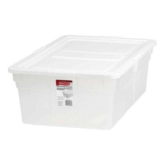Rubbermaid See-Through Storage Box - 41.6L