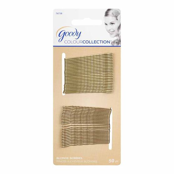 Goody Colour Collection Bobby Pins - Blonde Collection- 50 pack