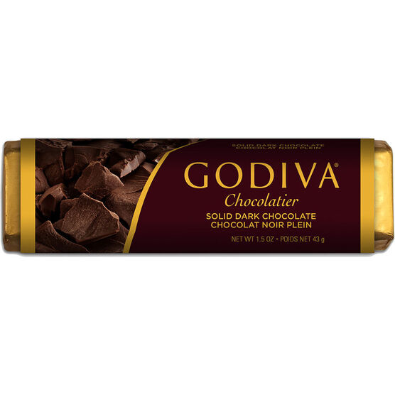 Godiva Solid Dark Chocolate Bar - 43g