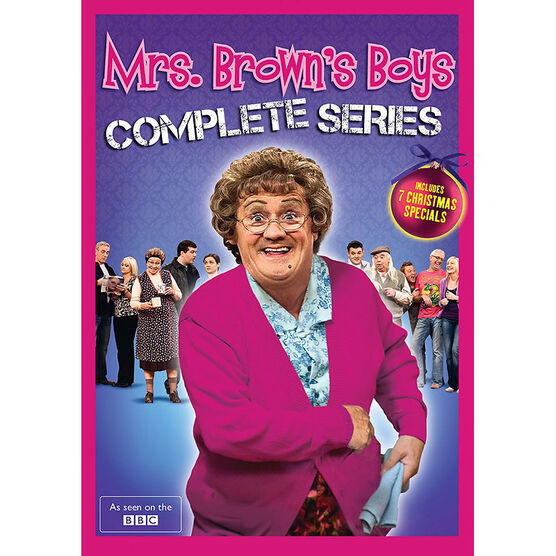 Mrs. Brown's Boys - The Complete Series - DVD