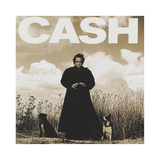 Johnny Cash - American Recordings - Vinyl