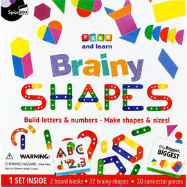 Play and Learn Brainy Shapes