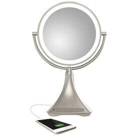 iHome 9-in Vanity Mirror with Bluetooth Speaker - ICVBT7 SN