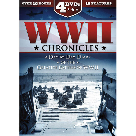 World War II Chronicles: A Day-By-Day Diary - DVD