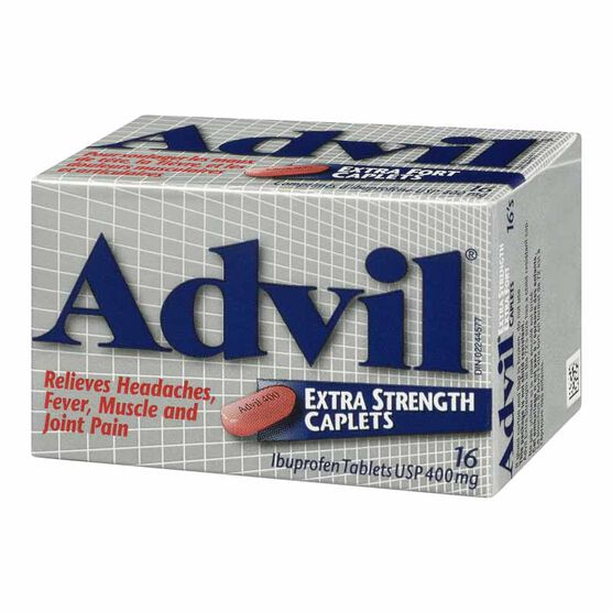 Advil Ibuprofen Extra Strength Caplets - 16's