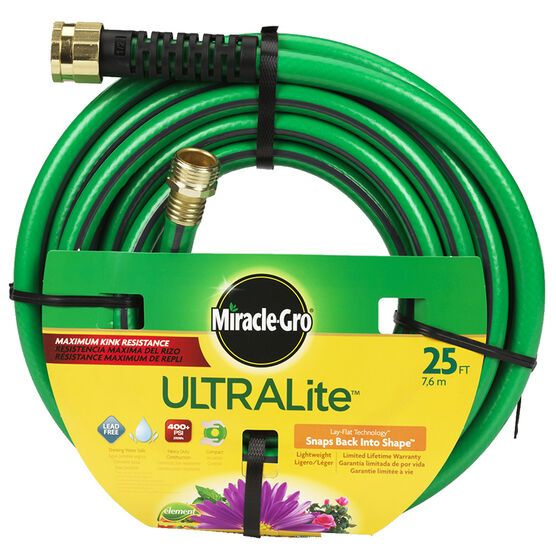 Miracle-Gro Ultralite Hose - 1/2 x 25ft