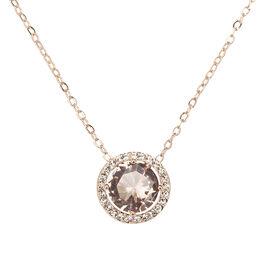 Eliot Danori Framed Pendant Necklace - Peach