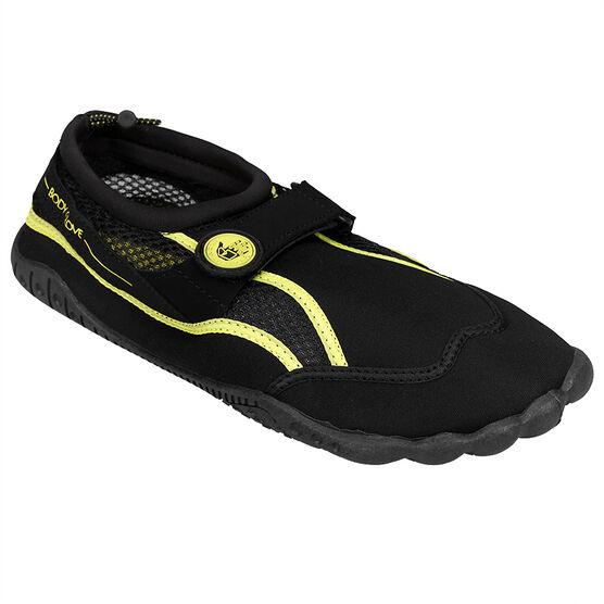 Body Glove Aqua Men's Seek Shoe - Black/Yellow - Size 7-13