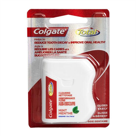 Colgate Total Mint Dental Floss - 50m