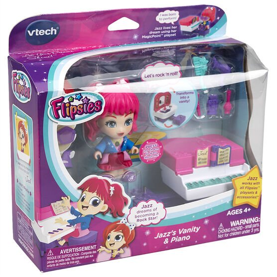 VTech Flipsies - Jazz's Vanity & Piano - Assorted