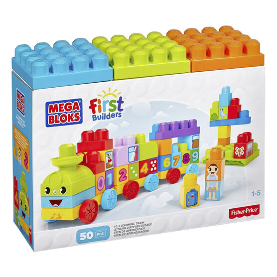 Mega Bloks - 1-2-3 Learning Train