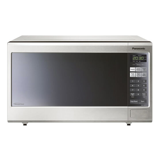 Panasonic 1.2 cu ft. Genius Invert - Stainless - NNST681SC