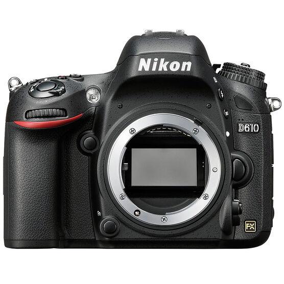 Nikon D610 FX Body Only - 33756