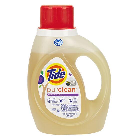 Tide Purclean Laundry Detergent - Lavender - 1.09L