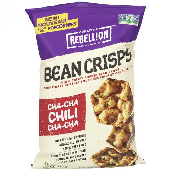 Our Little Rebellion Bean Crisps - Cha Cha Chili - 170g