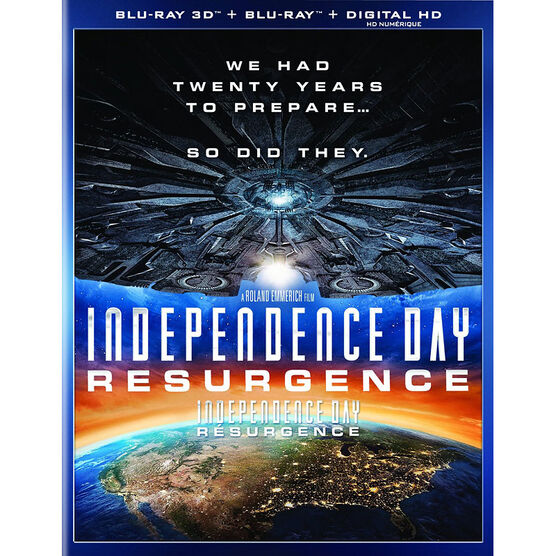 Independence Day 2: Resurgence - 3D Blu-ray