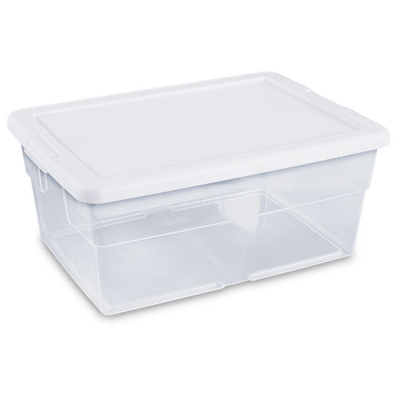 Sterilite Storage Box - Clear - 15.1L
