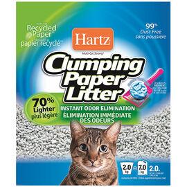 Hartz Clumping Paper Litter - 2kg