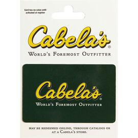 Cabelas Gift Card - $25