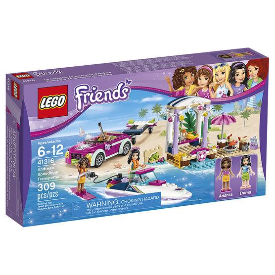 Lego Heartlake Andreas Speedboat Transporter