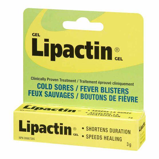 Lipactin Cold Sores - 3g