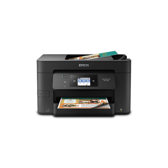 Epson WorkForce Pro WF-3720 All-in-One Printer - Black -  C11CF24201