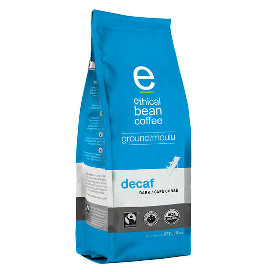 Ethical Bean Ground Coffee - Decaf - 227g