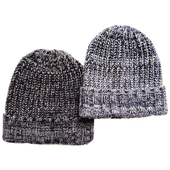 Point Zero Men's knit Hat - Grey - Assorted