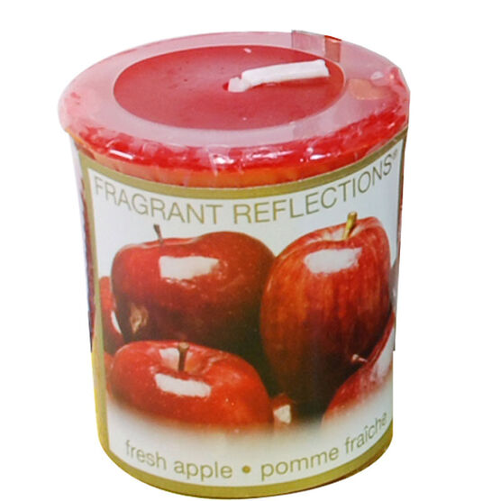 Fragrant Reflection Votive Candle - Fresh Apples