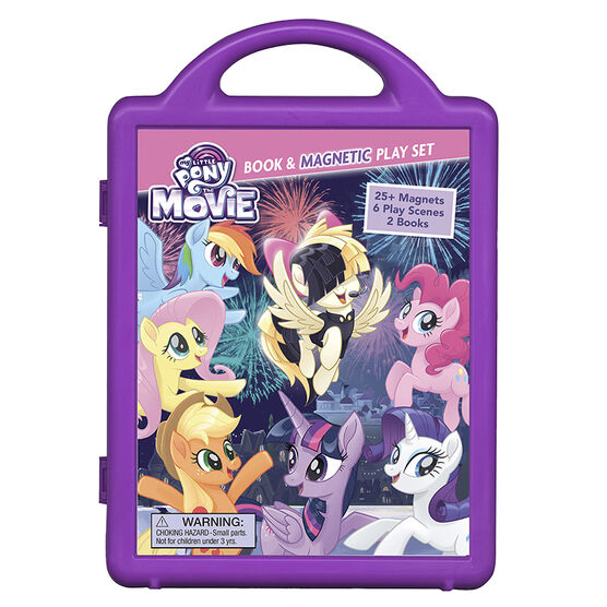 My Little Pony: The Movie Book & Magnetic Play Set