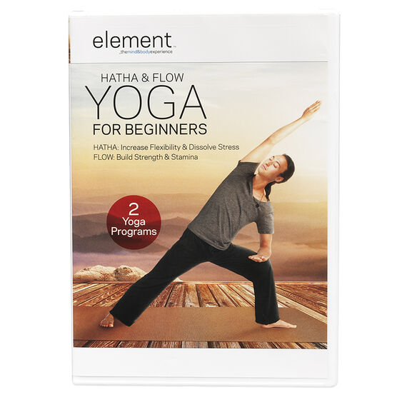 Element: Hatha & Flow Yoga For Beginners - DVD