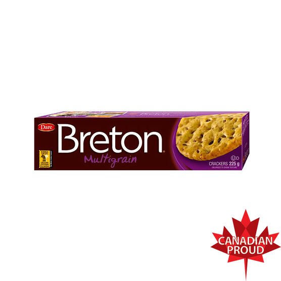 Dare Breton Crackers - Multigrain - 225g
