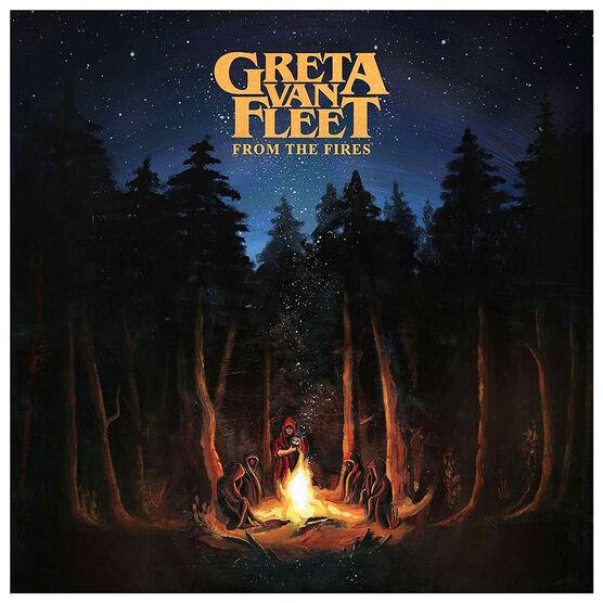 Greta Van Fleet - From the Fires - CD
