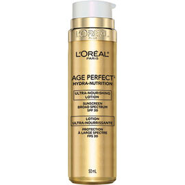 L'Oreal Age Perfect Hydra-Nutrition Ultra Nourishing Lotion - SPF 30 - 50ml