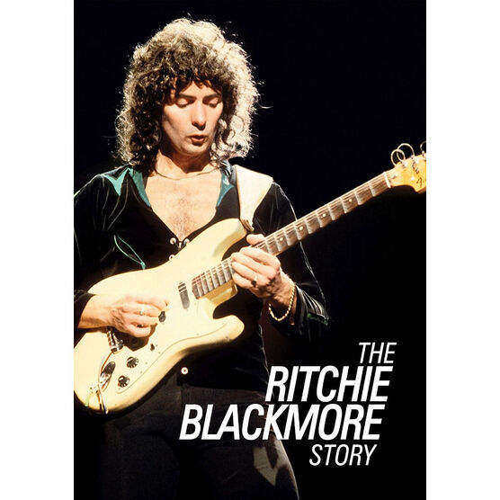 Uneasy Rider: The Ritchie Blackmore Story - DVD