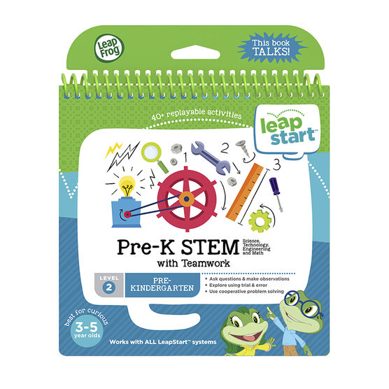 LeapStart Book - Pre-K STEM - Level 2