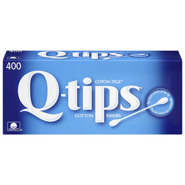 Q-Tips Cotton Swabs - 400 Count