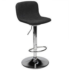 London Drugs Fabric Bar Stool - Black - 43 x 46 x 84cm