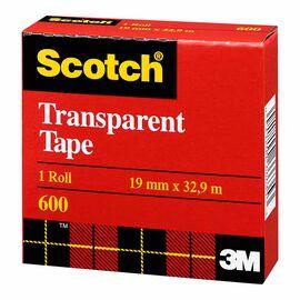 3M Scotch Transparent Tape - 18mmx33mm