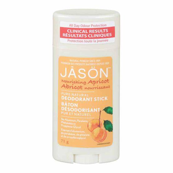 Jason Deodorant Stick - Apricot  - 71g