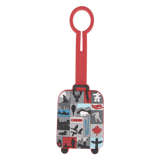 Austin House Canada Luggage Tags - Assorted - AH94XX01