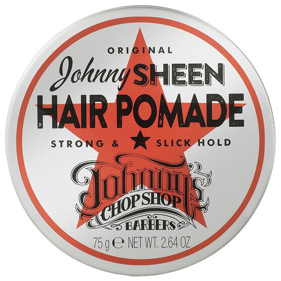 Johnny's Chopshop Johnny Sheen Hair Pomade - Strong Slick Hold - 75g