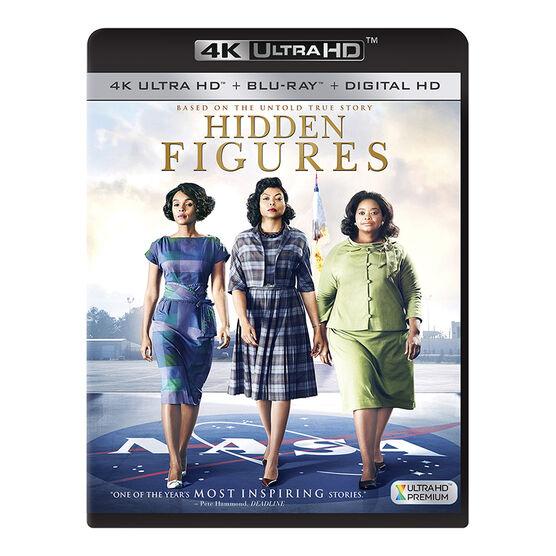 Hidden Figures - 4K UHD Blu-ray